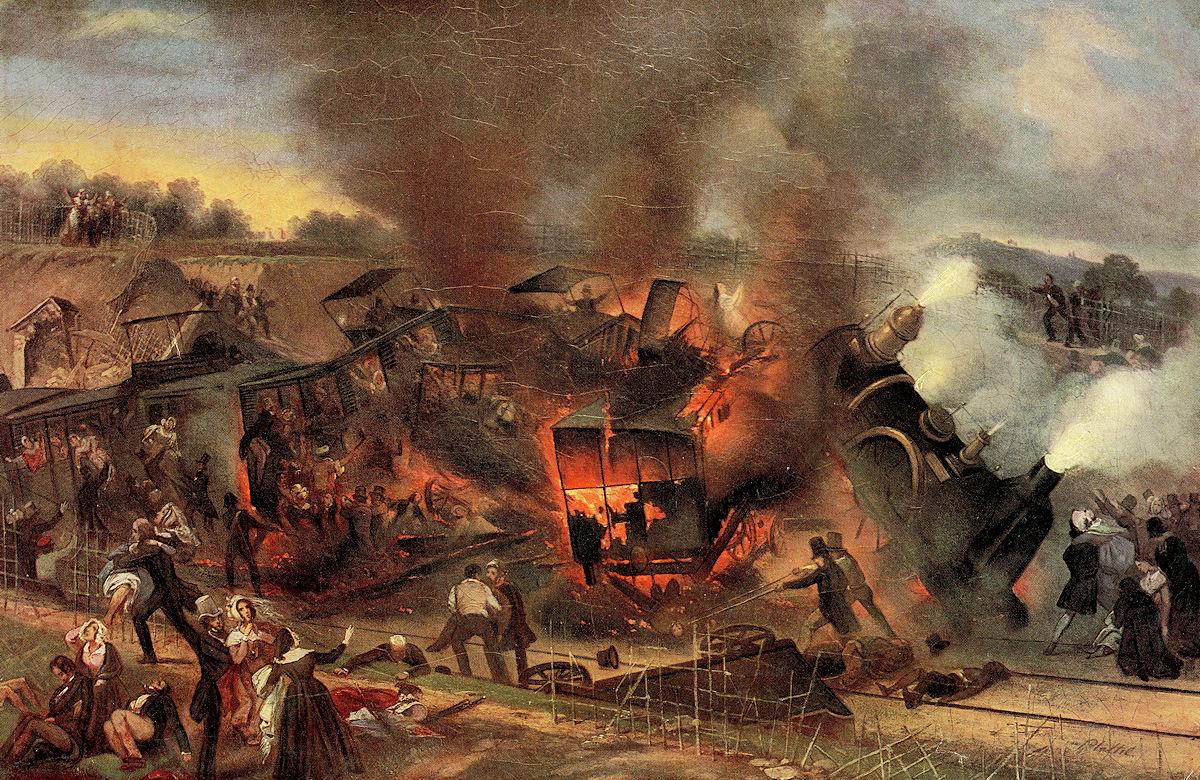 catastrophe ferroviaire de meudon